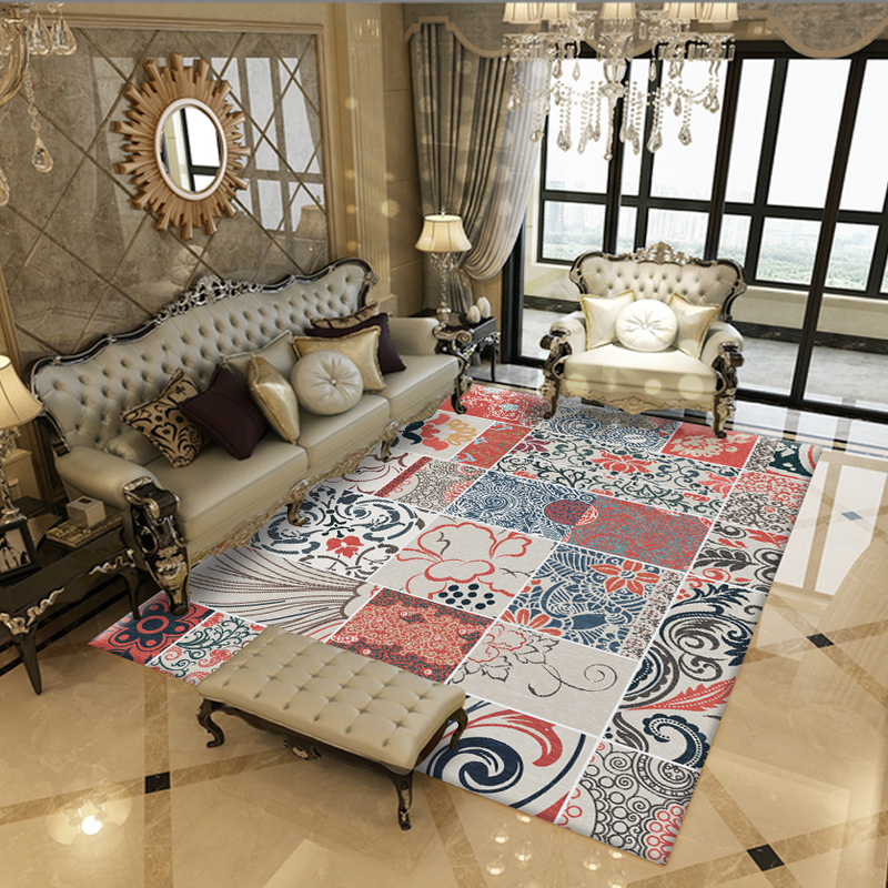 Bohemian Retro Rugs And Carpets For