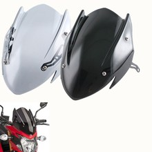 Motorcycle ABS Windshield Windscreen w/ Mounting Bracket For 2017 2018 2019 Suzuki GSXS GSX-S 750 GSXS750 Wind Shield deflector for bmw g310r 2017 on motorcycle windshield windscreen with mounting bracket high quality abs plastic