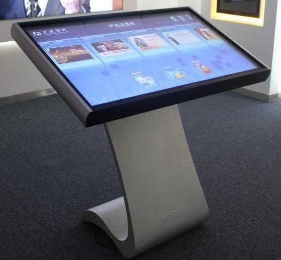 42 46 47 дюймов стальная оболочка 1080 p датчик движения Крытый торговый центр фото видео реклама ЖК tft hd Цифровая вывеска экран
