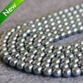 Necklace&Bracelet 4-14mm Silver Shell pearl beads Seashell DIY gift for women loose beads Jewelry making design 15inch wholesale