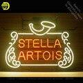 Неоновая вывеска для Stell Artoi неоновая трубка вывеска коммерческий свет ручной работы лампы магазин отображает неоновый свет вывеска Настоя...