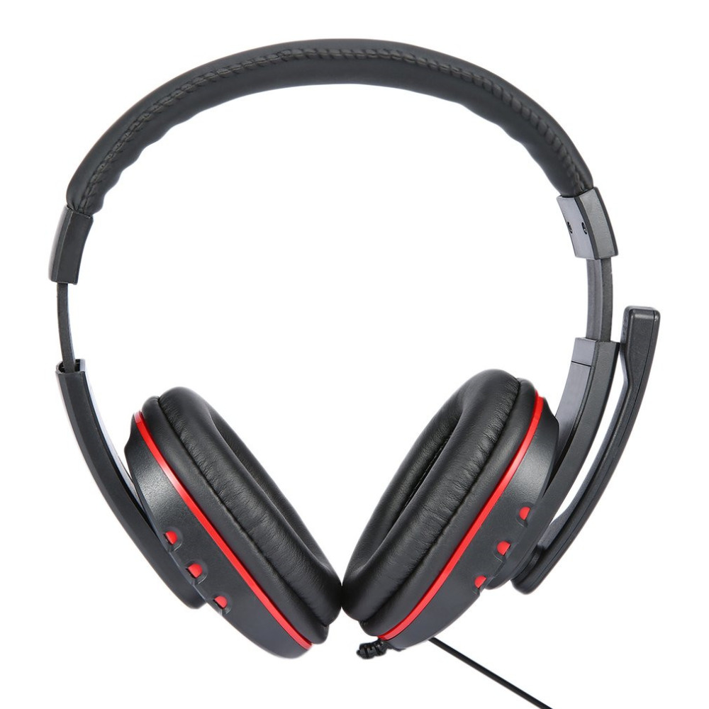 Original Gaming Headset Headphone Stereo Computer Gamer Earphones With Mic For Xbox 360 Wired Game Controller mvpower 3 5mm stereo headphone wired gaming headset with mic microphone earphones for sony ps4 computer smartphone hifi earphone