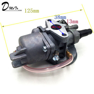Image 4 - Pocket bike 47cc 49cc carburador, motor carb com filtro de ar 2 tempos para mini quad atv dirt bike minimoto