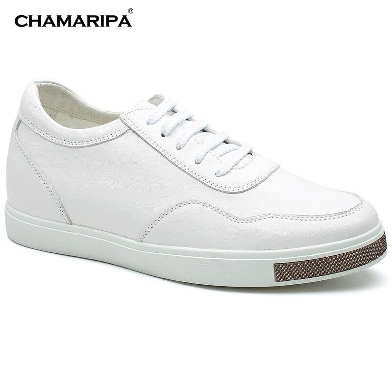 CHAMARIPA Board Shoes Classic Taller Elevator Shoes Men Increase Height 6cm/2.36 inch Canvas Sports Hidden Wedge H71C26K176D кастрюля taller tr 1083