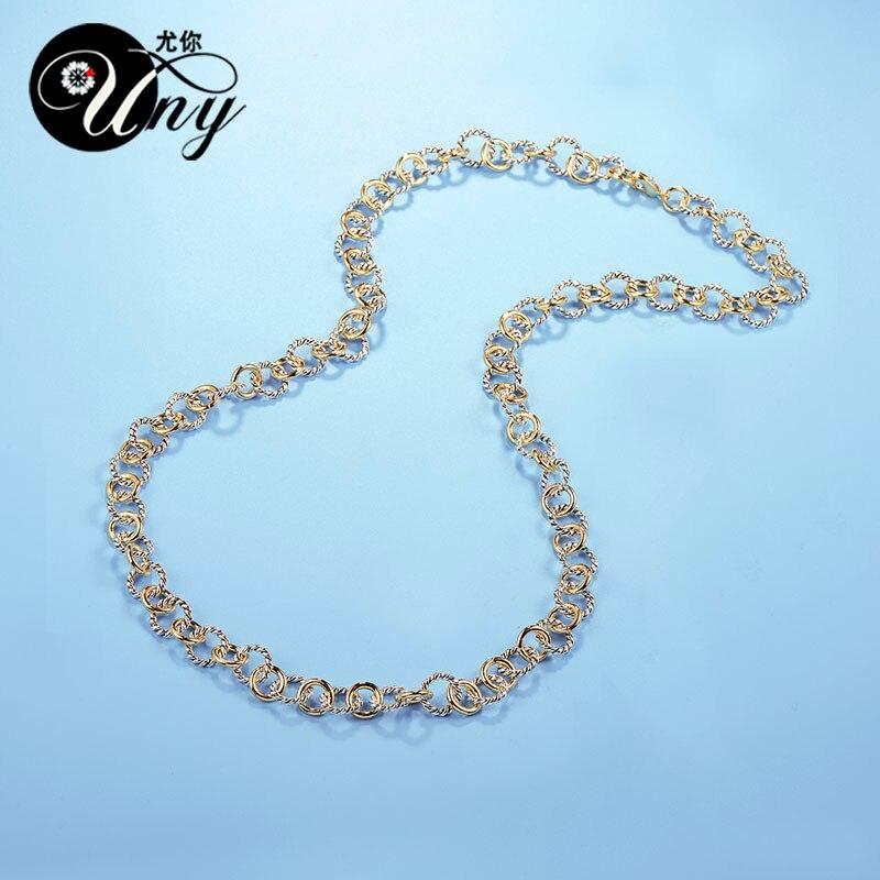 UNY Naszyjnik Styl Trendy Elegancki Vintage Retro Unikalny David - Modna biżuteria - Zdjęcie 4