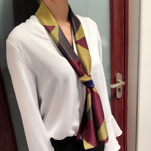 HOT Spring and autumn women scarf long small Decorative for female 24colors fashion scarfs size145cm*15cm tie