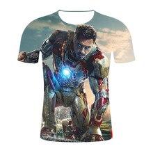 77448634c NEW Movie Avengers 3 Infinity War Superhero Thanos Hawkeye Hulk Tees 3D  Print T Shirt Unisex Tops Summer Fashion Men T-Shirt