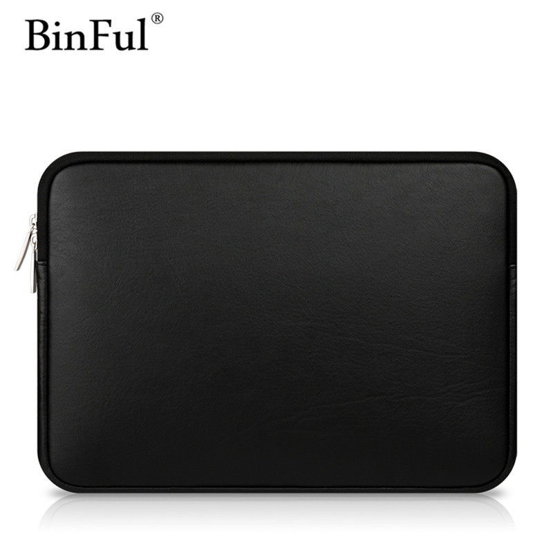 BinFul Premium Leather Smart Holster Protective Sleeve bag Case Cover for MacBook Air Pro Retina 11.6 12 13.3 15.4 Inch bag