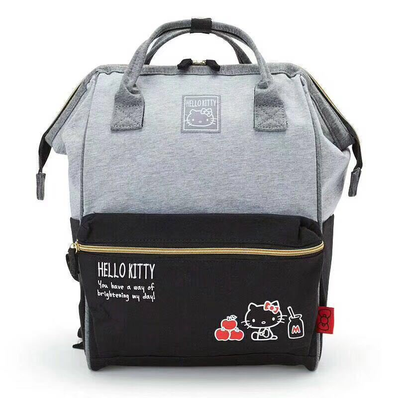 2018 School New Arrival Kitty Travel Bag Kt Flocking Patch Backpack Chest Oblique Satchel High Capacity Package Drop Shipping 2018 School New Arrival Kitty Travel Bag Kt Flocking Patch Backpack Chest Oblique Satchel High Capacity Package Drop Shipping