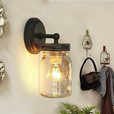 wall lamps loft edison vintage industrial decoration wall lamp light wall sconce glass shade for home