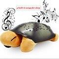 Luz Da Noite tartaruga com 4 Músicas Estrelas Projetor para Presente Das Crianças Confortável Iluminação da Decoração Quarto Bebê