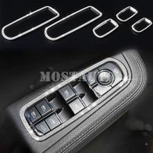 Для Porsche Panamera Rhinestone style Автомобильная дверь окно Lift Trim Cover 2010-2016 5 шт.