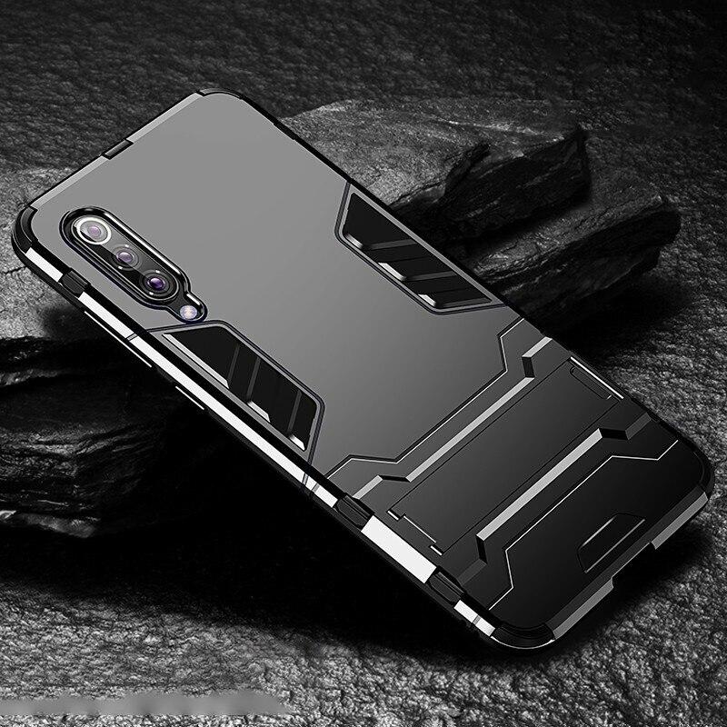 HTB1yXyXXk9E3KVjSZFrq6y0UVXai Bat Kickstand Case For Samsung Galaxy S9 S10 Plus S10e Note 9 Samsung A70 A50 A30 M30 M20 Shockproof Armor TPU + PC Tough Cover