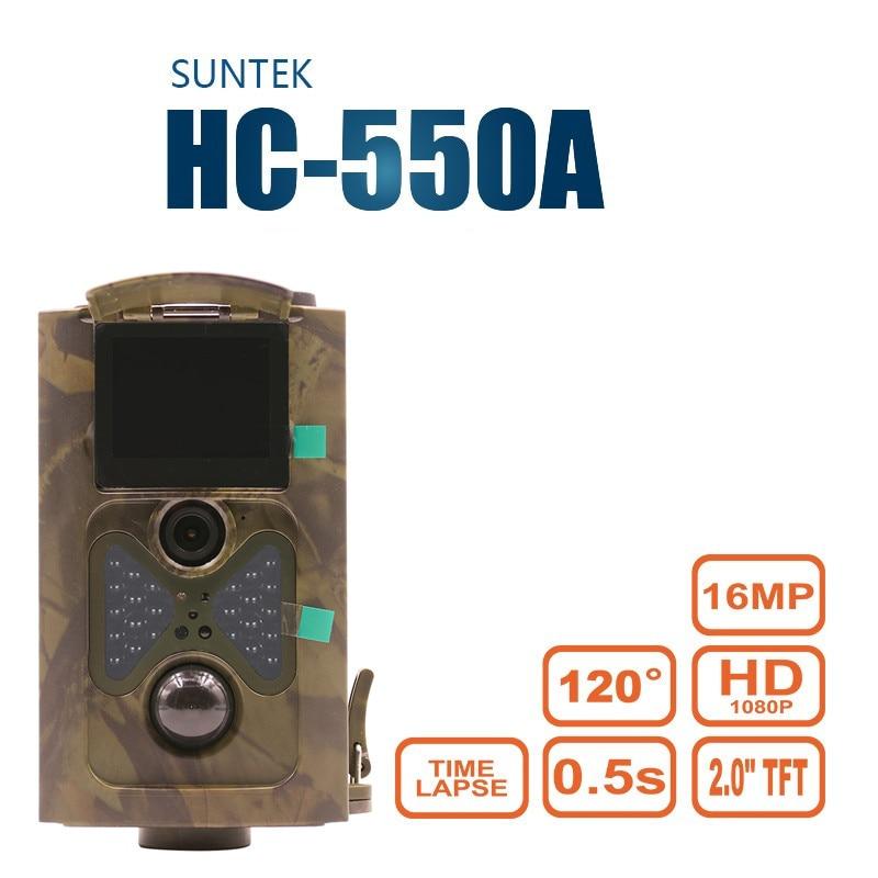 Scout Guard Hunting Camera HC550A 1080P 16MP 120 Degrees Angle PIR Sensor Photo-traps Wildlife Game Trail Cameras HC-550A Foto