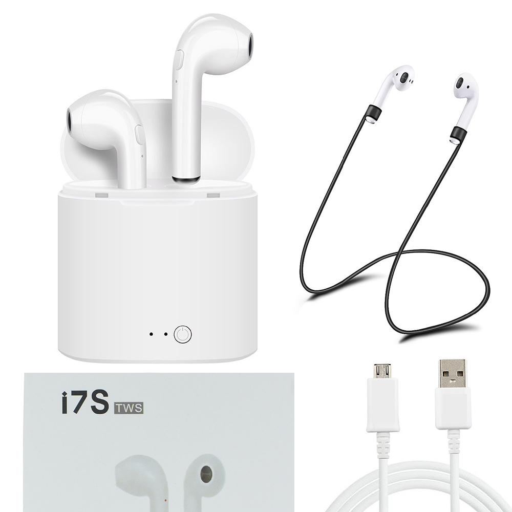 ᑎ Xiomi For Apple I7s Tws I9s Mini Wireless Bluetooth Earphone Twins Earbuds Hbq Stereo Headset Charging For Iphone 5 6 7 Airpro A73