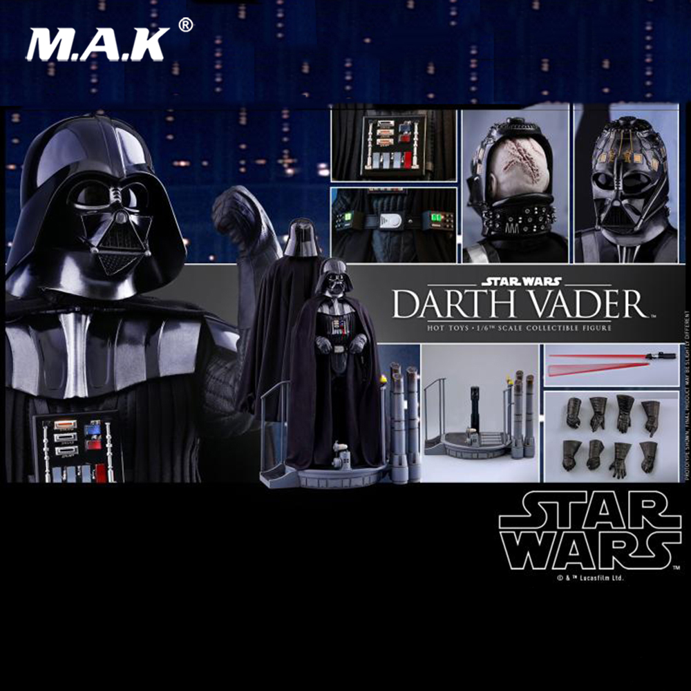 купить 1/6 Star Wars Episode V The Empire Strikes Back Darth Vader Figure whole set Collectible Action Figure Doll онлайн