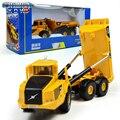 KAIDIWEI A40D Volvo Camión de Ingeniería Vehículos 1: 87 Escala Aleación funde y automóviles de juguete de Colección Modelo de Coche Niños juguete