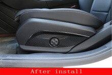 Углеродного волокна автомобилей регулятор сидения крышка Панель Накладка для Mercedes-Benz КЗС/CLS/E/C класс W205 W212 W213 автомобильные аксессуары