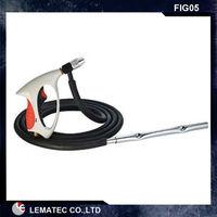 LEMATEC Siphon Feed Sand Blasting Gun With 10FT Hose Portable Sandblaster Air Sandblasting Gun Siphon Type