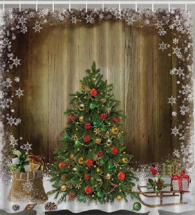 compare prices on christmas shower curtains- online shopping/buy