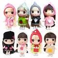 Freeshipping аутентичные Корейский ddung путать кукла 11 см Супер Мини милые куклы Телефон сумка ключи от машины кулон ювелирные Игрушки и подарки