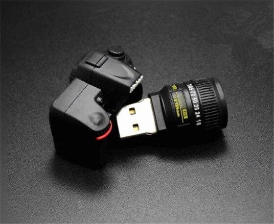 USB stick engraçado stick usb mini pen drive usb 2.0 modelo de câmera USB flash drive pendrive dos desenhos animados 64g/32g/16g/8g/4g/2g/1g ks454