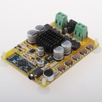 TDA7492 Bluetooth 4 Power Amplifier Board 2 50W Digital Power Amplifier With Dual Channel Microphone CSR8635