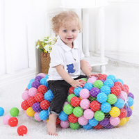 400 Pcs/Lot Plastic Ocean Ball Kids Toy Balls Colorful Water Pool Ocean Wave Ball Pit Soft Eco Friendly Ball for Baby Dia 5.5cm