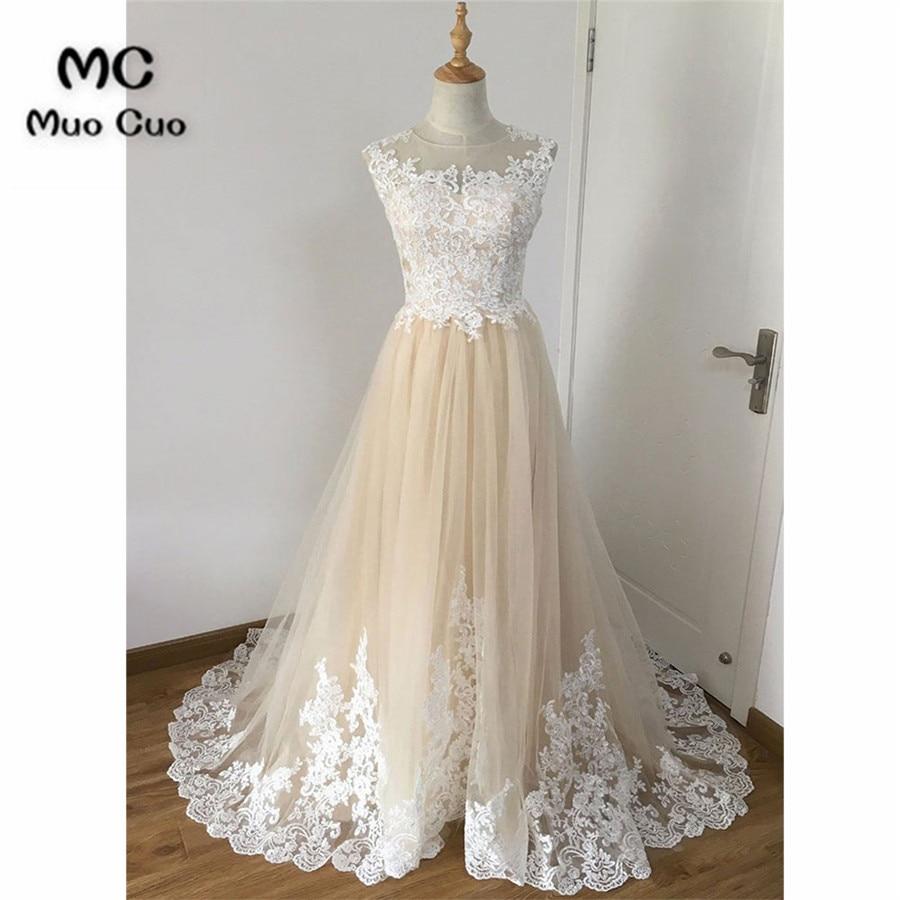 Elegant 2018   Evening   Prom   dresses   with Appliques Lace Tulle Vestidos de fiesta Zipper Back Formal   Evening     Dress   Long
