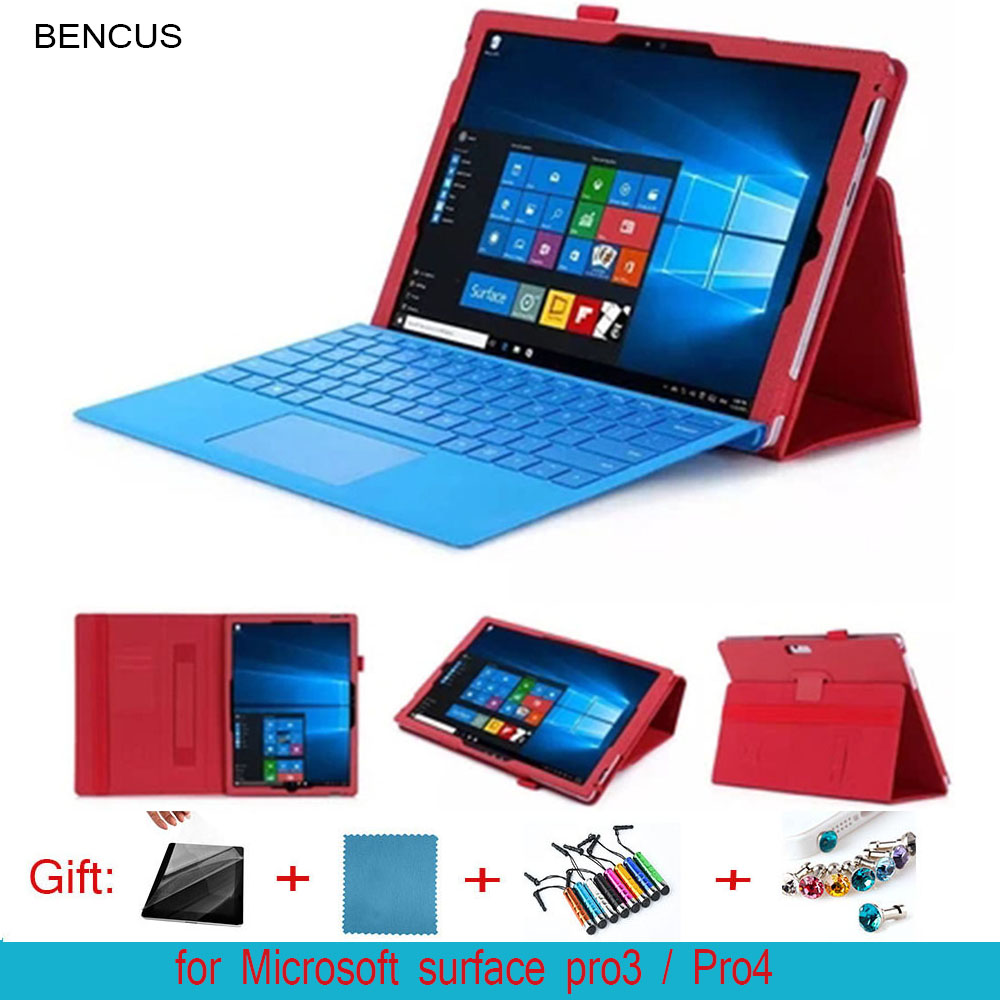 BENCUS Rushed Limited 12 for Microsoft 12.3 -inch Surface Pro 4 Tablets Holster 3 for Protection Shell But Even The Keyboard