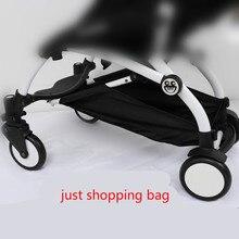 Новая Универсальная детская коляска, аксессуары, корзина для покупок, сумка для хранения, тележка, подходит для yoyo Yoya babytime, коляска, коляска