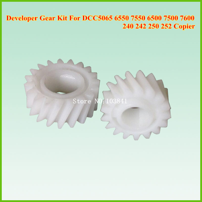 2sets compatible New Developer Gear Set For Xerox Docucolor 5065 6550 7550 240 242 250 252