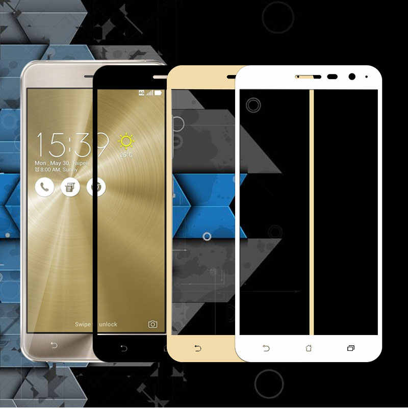 Full Cover Tempered Glass For ASUS 3 ZE520KL Phone Screen Protector Glass For Zenfone3 ZE520 KL Protective Film ZE 520KL 5.2""