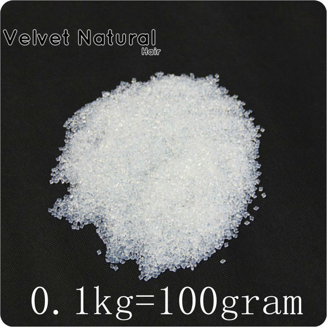 Free ship100g/lot high quality Italian keratin glue grain keratin glue granule Transparent color for I tip/ U-tip hair