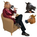 Halloween Props Creepy Unicorn Horse Animal Head Latex Mask Theater Prank Masks Costume PY2