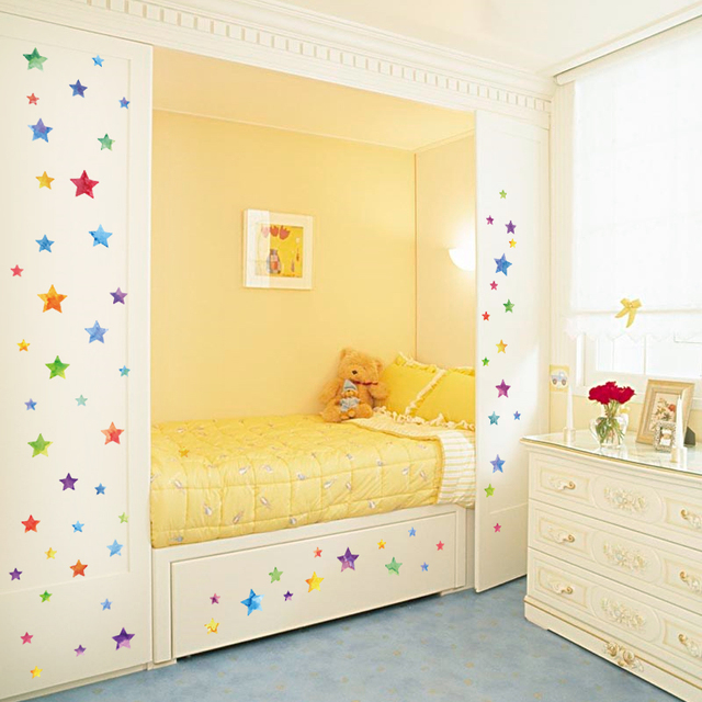 Dots & Stars Wall Stickers 4