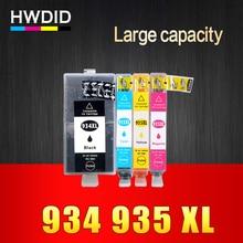 4 PCS NOUVELLE VERSION Pour HP 934 934XL 935 935XL compatible pour HP Officejet pro 6230 6830 6835 6812 6815 6820 imprimante