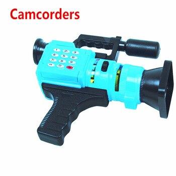 Vente chaude Caméscopes caméra 21*16*6 CM Bébé jouet caméras bonne qualité dire histoire changement photos bon cadeau pour enfants 4 type