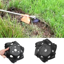 9.5 inches Weed Trimmer Head Lawn Mower Sharpener Weed Trimmer Head for Power Lawn Mower Convenience Hand Tools цена