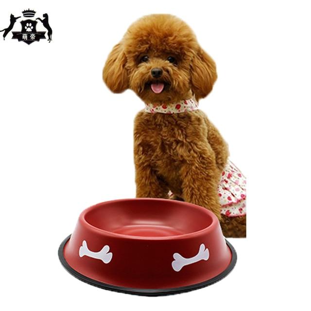 stainless steel dog cat food bowl pet feeding products for dog bebedouro para gato anti