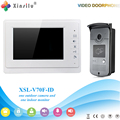 Xinsilu V70F-ID Doorbell Camera With 4.3inch Door Viewer Indoor Monitor Out Door Phone Bell Video Photo IR Voice Unlock