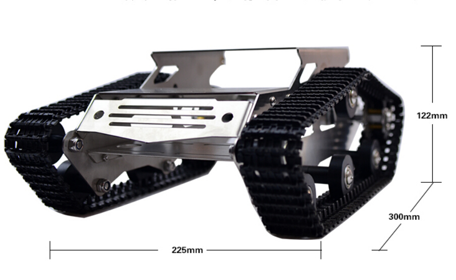 Wireless Wifi Robot Car chassis with motors