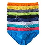 10PCS/LOT Sexy Underwear Men's Modal Briefs Shorts Bulge Pouch Soft Underpants Slip Homme Sexy Jockstrap Men's Brief Bikini