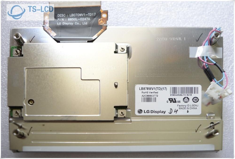 100% Testing LB070WV1-TD17 LB070WV1 (TD)(17) Original Grade A+ 7.0