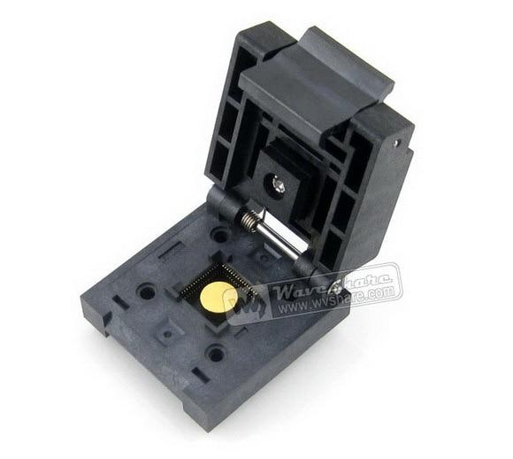 Modules Free Shipping QFN-64BT-0.5-01 Enplas IC Burn-in Test Socket Adapter 0.5mm Pitch QFN64 MLP64 MLF64 Package