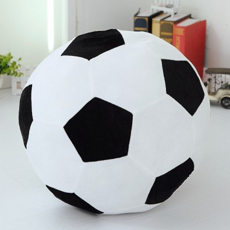 Home Sofa Soccer Ball Plush Pillow Toys World Cup Football Fan Memorable Gift 4 Colors