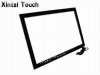 real 4 touch points 50 IR usb multi touch screen Kit , ir touch frame
