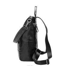 Multifunction Compact Waterproof Genuine Leather Diaper Bag