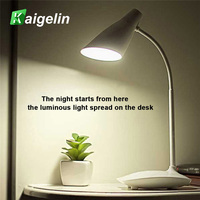 24 SMD2835 LED USB Rechargeable Table Lamp LED Desk Lamps Eye Protection Touch Switch Dimmable Student