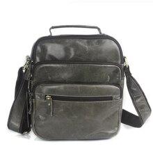 цена Messenger bag men's shoulder bag genuine leather small male man crossbody bags for men handbags genuine leather bags 8826 онлайн в 2017 году